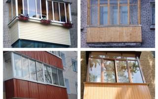 Как закрыть балкон своими руками