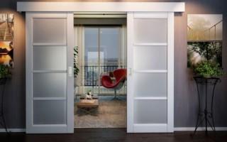 Как установить сдвижную дверь своими руками