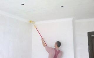 Как правильно белить стены известью