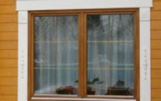 Изготовление наличников на окна из дерева