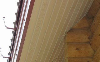 Свес крыши от стены размер