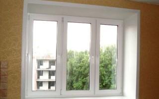 Как отделать пластиковые окна изнутри