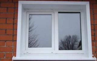 Откосы металлические оконные