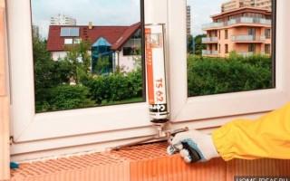 Выбор монтажной пены для пластиковых окон