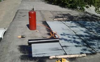Мастика для ремонта крыши гаража