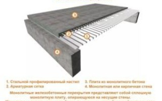 Лента и монолитная плита фундамента