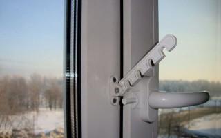 Как прикрутить гребенку к пластиковому окну