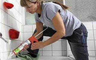 Герметизация акриловой ванны со стеной