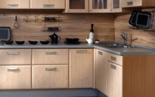 Как крепить кухонную панель к стене