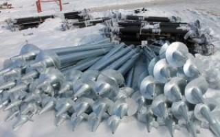 Область применения винтовых свай в строительстве