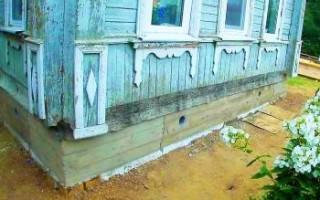 Ремонт и восстановление фундамента дома