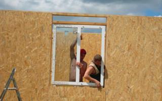 Стандартная высота окна в частном доме