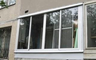 Холодное остекление балкона своими руками