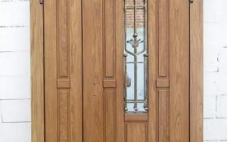Как укрепить дверь на даче