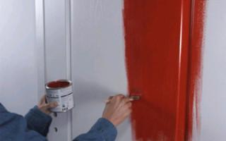 Какой краской покрасить двери межкомнатные