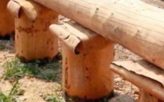 Как сделать деревянный фундамент