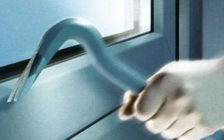 Как воры открывают пластиковые окна