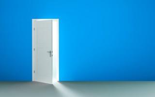 Правая и левая дверь как отличать