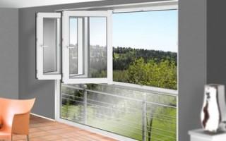 Какие окна лучше ставить на лоджию