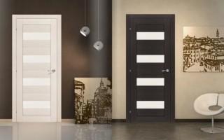 Межкомнатные двери шпон или экошпон что лучше