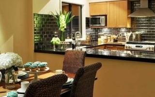 Каким материалом можно отделать стены на кухне