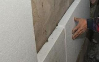 Утепление стен частного дома снаружи пенополистиролом