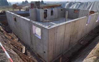 Толщина бетонной стены в частном доме