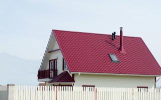 Двускатная крыша стропильная система под металлочерепицу