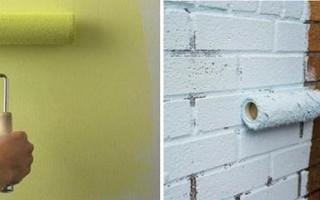 Чем покрасить стены на балконе внутри