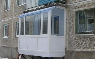 Можно ли пристроить балкон на первом этаже