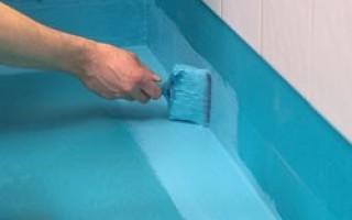 Гидроизоляция стен ванной комнаты под плитку