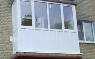 Как лучше застеклить балкон в хрущевке