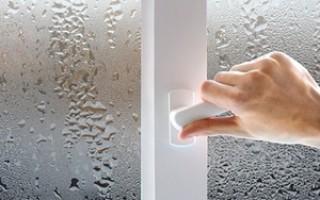 Что делать если пластиковые окна сильно потеют