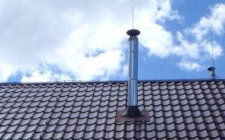 Молниезащита частного дома с крышей из металлочерепицы