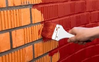 Как покрасить кирпичную стену в интерьере
