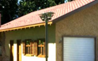 Надворные постройки под одной крышей