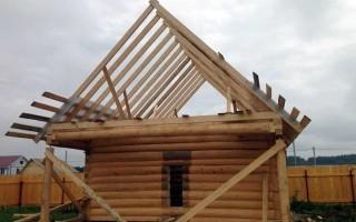 Как правильно сделать стропила для двускатной крыши