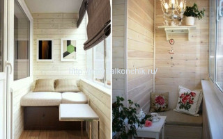 Какими панелями лучше отделать балкон