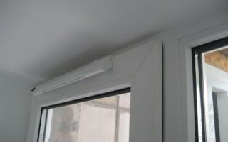 Приточный клапан на пластиковые окна своими руками