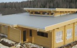 Эксплуатируемая крыша частного дома