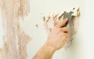 Как убрать краску со стен в ванной