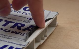 Чем резать пластиковый подоконник