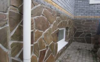 Облицовочный камень для цоколя