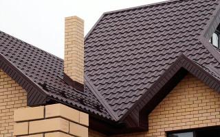 Как правильно сделать крышу дома из металлочерепицы