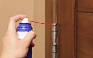 Скрипит дверь в комнате что делать